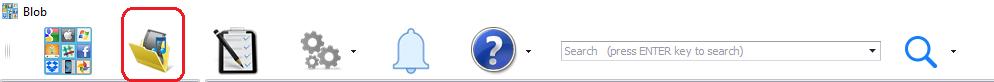 Menu item to create a Blob virtual folder